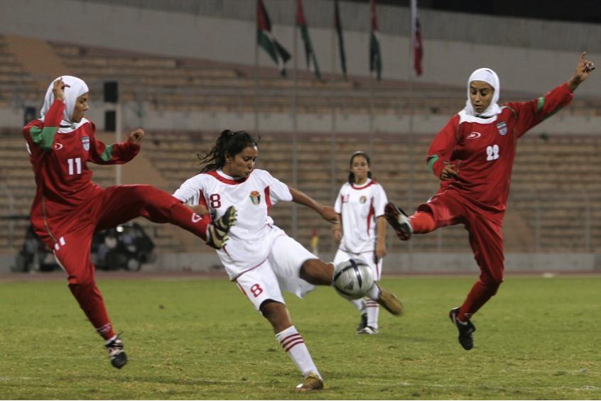 Fussball-Frauen